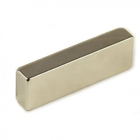 Неодимовый магнит прямоугольник 60х20х10 мм