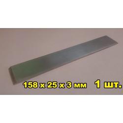 Бланк Д16 158x25x3 1 шт для точильных камней и наждачной бумаги точилок Edge Pro и Ruixin всех поколений