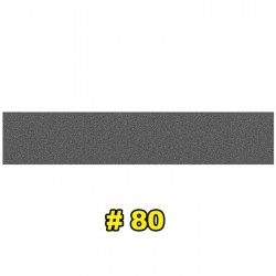 Наждачная бумага водостойкая 150x30 мм P80