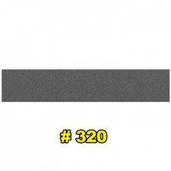 Наждачная бумага водостойкая 154x30 мм P320