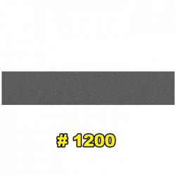 Наждачная бумага водостойкая 154x30 мм P1200