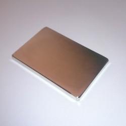 Неодимовый магнит прямоугольник 60х40х5 мм