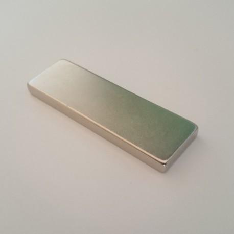 Неодимовый магнит прямоугольник 60х20х5 мм