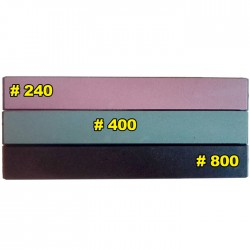 Камни бруски для точилок Edge Pro Apex всех поколений 240 400 800 Комплект из 3 шт