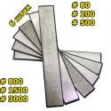 Набор алмазных брусков 6 шт 80-3000 грит для точилок RUIXIN PRO
