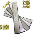 Набор алмазных брусков 5 шт 120-3000 грит для точилок
